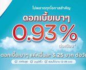 เคทีซีกดดอกเบี้ยฯ ต่ำ 0.93% แบ่งเบาภาระผู้ต้องการสินเชื่อในช่วงวิกฤติเศรษฐกิจ